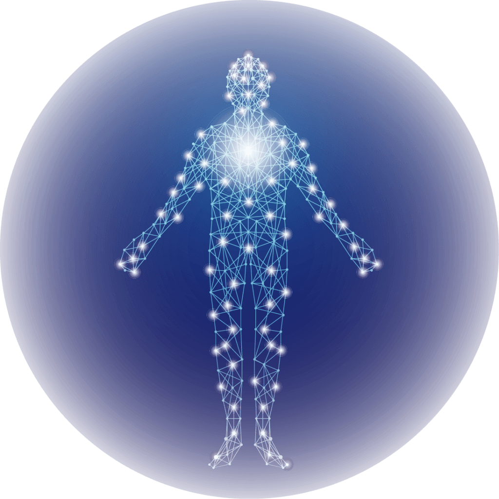 Human body has 3 energy bodies: physical, subtle and mental.